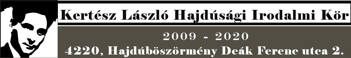 Kertész László Hajdúsági Irodalmi Kör